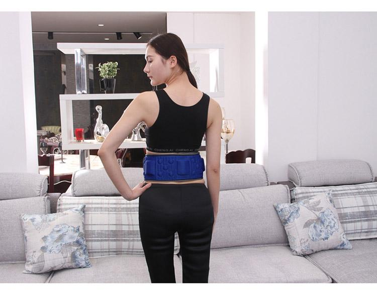 Wireless Rechargeable Fat Machine Shaking Heating Vibration Slimming Belt Device Body Electronic Stress Relax Tool Health electric beauty body slimming and lipoid fat massaging massager is powerful vibratory body and slimming machine