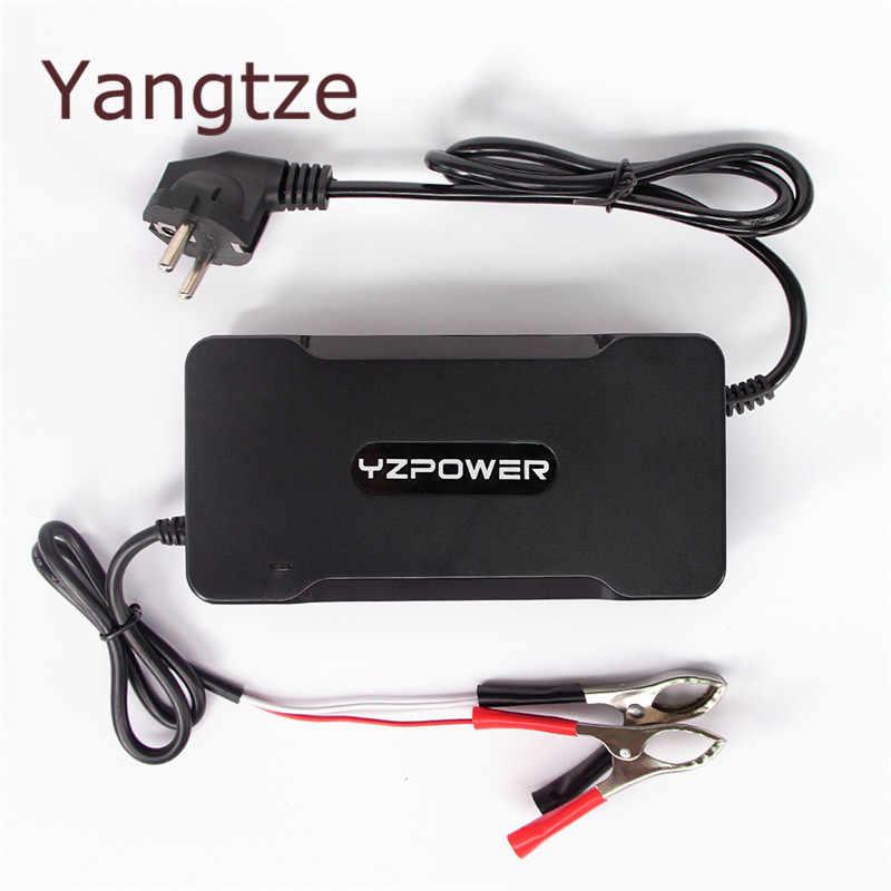 اليانغتسى 101.5 V 2.1A شاحن بطارية ل 84 V الرصاص حمض البطارية الكهربائية دراجة السلطة أداة كهربائية للتبديل و مجموعة- أعلى صناديق