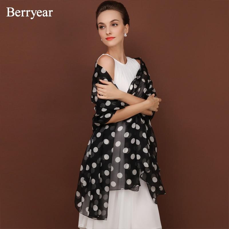 Berryear Silk Šalles Bandana Sieviešu šalle Galvas šalle Pavasara - Apģērba piederumi