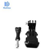 Kaliou Go pro accesorios adaptador de montaje j hook hebilla perno tornillo para Go pro 7 6 5 4 3 Sj8 pro accesorios de Cámara de Acción