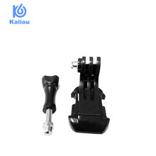 Kaliou Tripod J Type Mount Monopod Adapter with Thumb Screw for Gopro 6 5 4 3 2 1 Sjcam SJ4000 SJ5000 Xiaomi Yi Action Camera(China)
