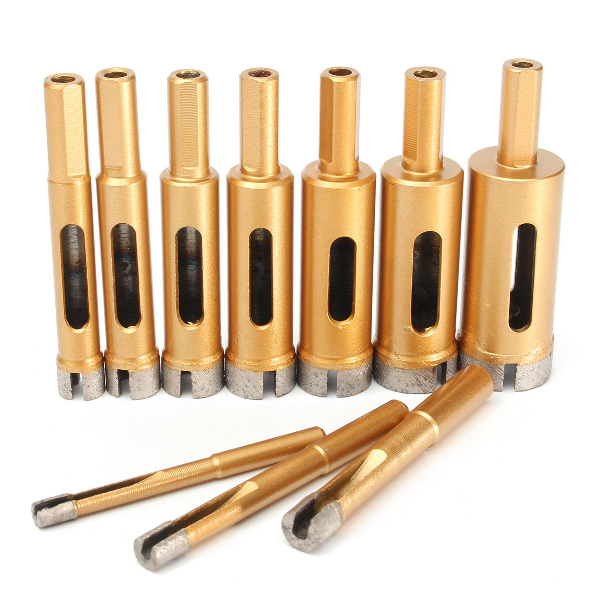 Drill Bits Temperate 6/8/10/12/14/16/18/20/22/25 Mm Diamond Drill Bit Hole Saw Tile Glass 1pcs Marble Glass Hole Cutter Drill Bits Outstanding Features