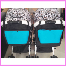Baby Stroller Hanging Storage Bag Organizer Mummy Bag Baby Pram Carriage Accessory Nursing Milk Bottle Diaper Multi Function Bag