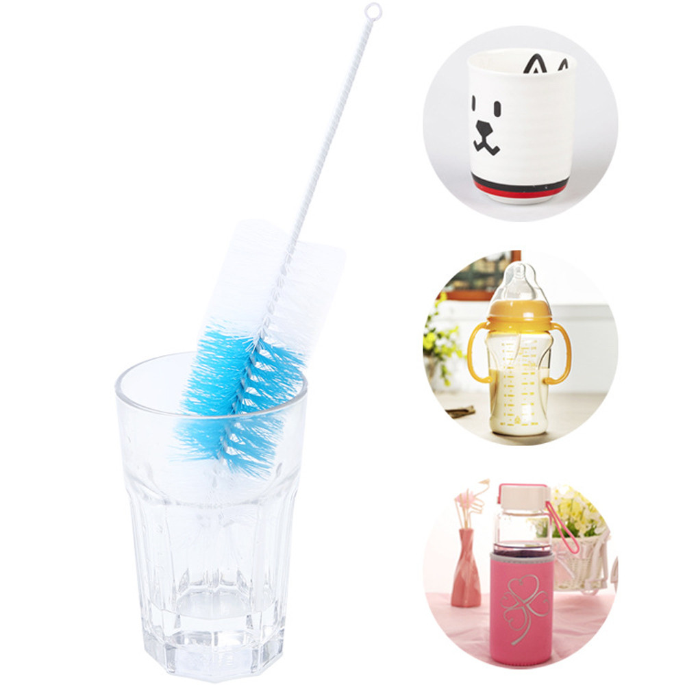 Kitchen Cleaner Brush: Home Kitchen Long Handle Dish Brush Bottle Cup Glass