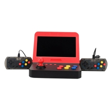 цена на Mini 7 Inch Handheld Arcade Game Retro Machines for Kids with 3000 Classic Video Games