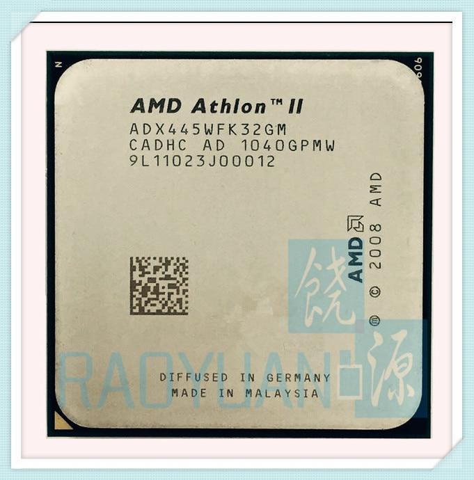 AMD Athlon II X3 445 3.1 GHz Triple-Core CPU Processor X3-445 ADX445WFK32GM Socket AM3 938pin