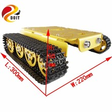 DOIT RC Metal robot Tank Car Chassis Caterpillar with High Torque Motor With Hall Sensor Speed Measure Remote Control