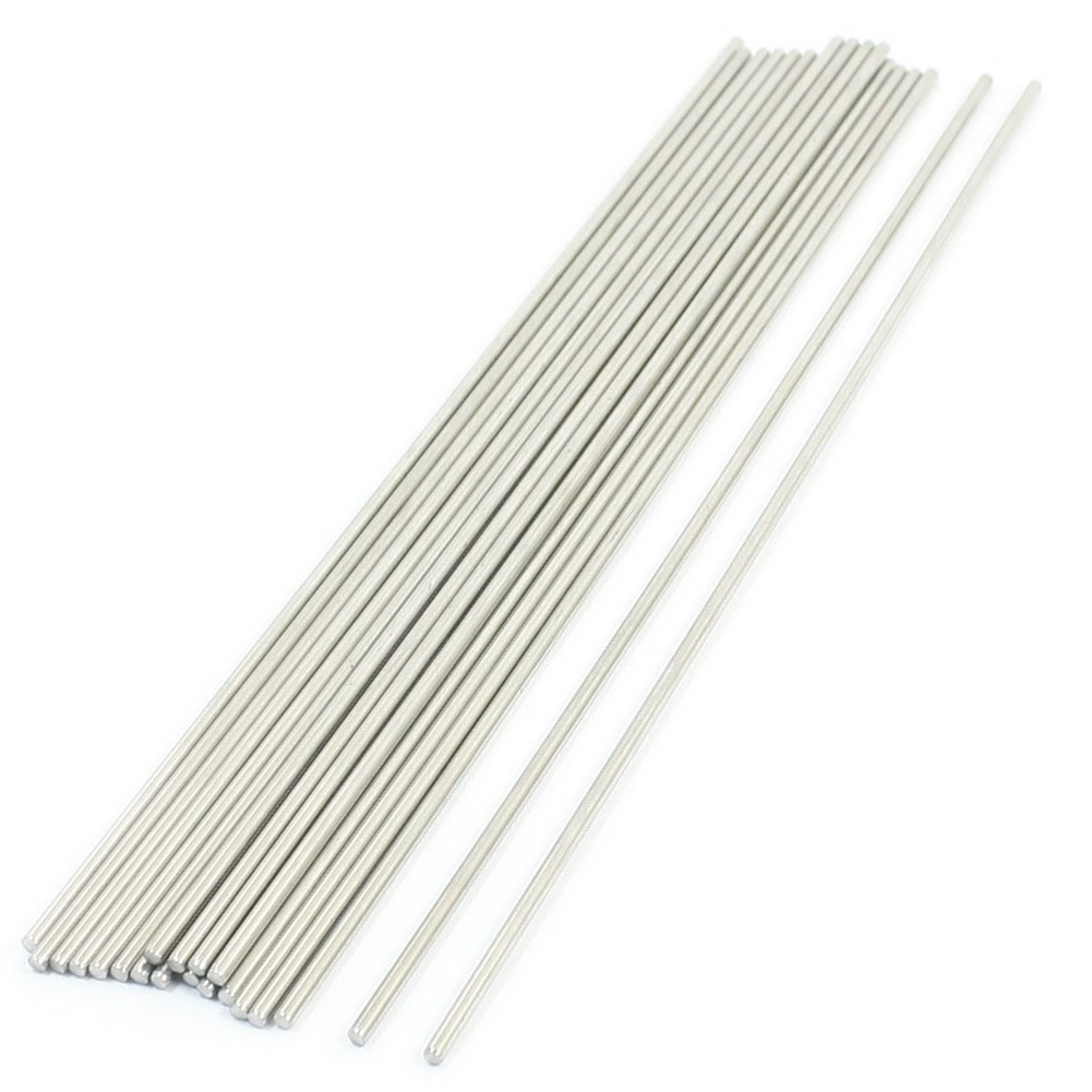 20PCS 170mm X 2mm Stainless Steel Round Rod Axle Bars For RC Toys Dropshipping