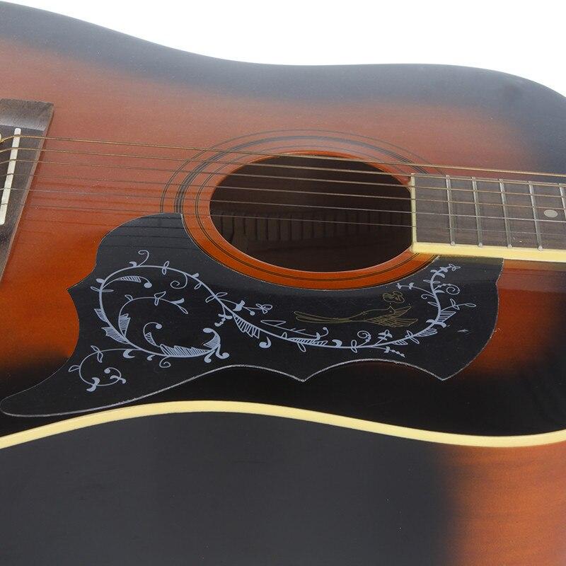 Professional Guitar Pickguard Hummingbird Acoustic Guitar Celluloid Pickguard Scratch Plate Pick Guards For 41Guitar