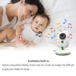 Image 5 - Baby Monitor VB602 Wireless Audio Video Baba Elektronische Tragbaren Gegensprechanlage Babyfoon Kamera BeBe Nanny Walkie Talkie Babysitter