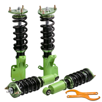 Green Coilover Suspensions kit For Honda Civic EM2 2001 2005 Spring Struts Shock Absorber DC5 EP3