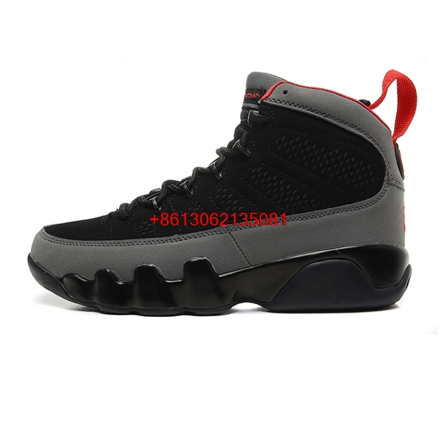 hot Retro 9 Men Basketball Shoes 2010 RELEASE Cool Grey The Spirit OG space jam high Athletic Outdoor Sport Sneakers 41-46