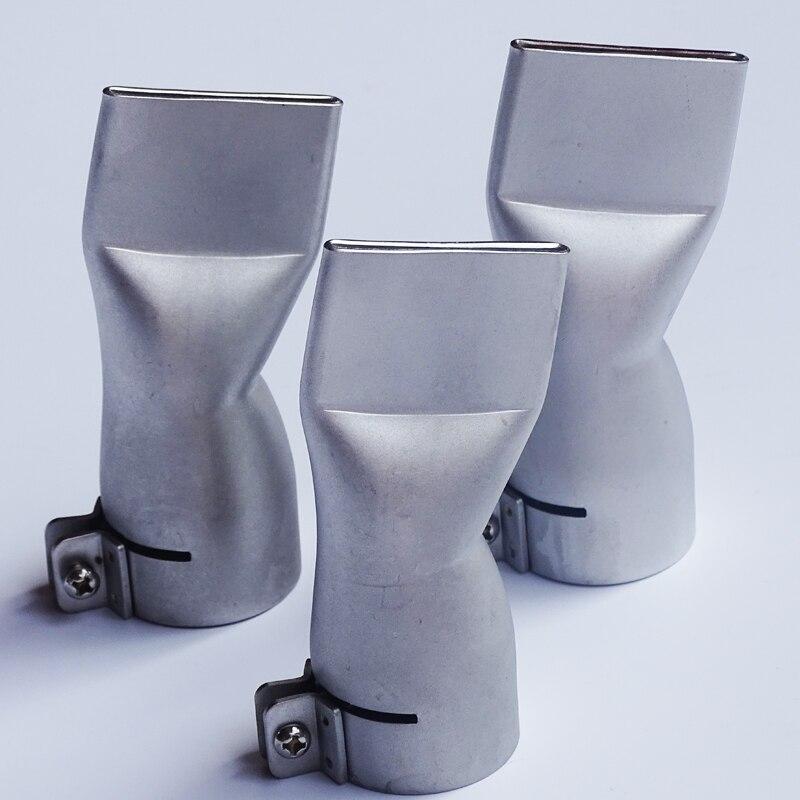 wholesale 40mm flat wide mouth tubular nozzle for Plastic Welding Gun hot air heat gun for