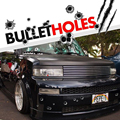 23*29cm DIY Funny 1Pcs Car Stickers 3D Bullet Hole Car Styling Accessories Motorcycle Scratch Decal Cover Stickers