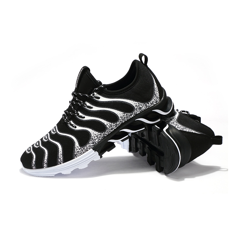 Hot Sale Men Shoes Zapatos Breathable Running Shoes for Men Sneakers 2018 High Quality Lightweight Laces Trekking Jogging Shoes