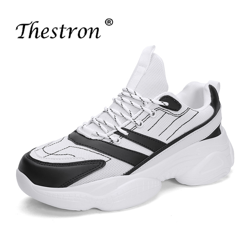 Thestron 2019 Men Running Shoes Spring Autumn Comfortable Sports Sneakers Breathable Outdoor Athletic Trainers Jogging