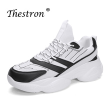Thestron 2019 Men Running Shoes Spring Autumn Comfortable Sports Sneakers Breathable Outdoor Athletic Athletic Trainers Jogging