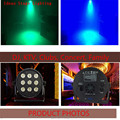 2pcs/lot Fast Shipping LED Par 9x12W RGBW 4IN1 DJ Par LED RGBW Wash Disco Light DMX Controller Free Shipping