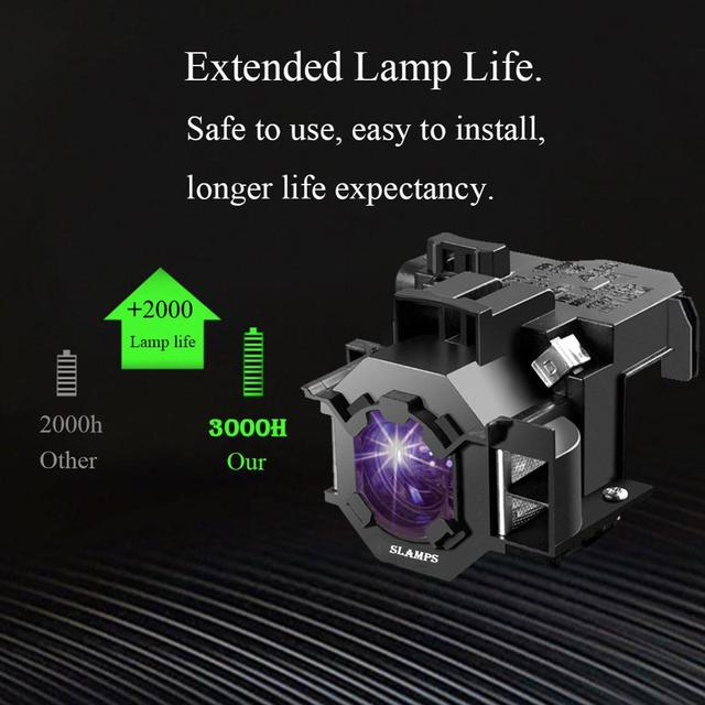 High Quality ELPLP41 V13H010L41 for Epson S5 S6 S6+ S52 S62 X5 X6 X52 X62 EX30 EX50 TW420 W6 77C Projector lamp with housing