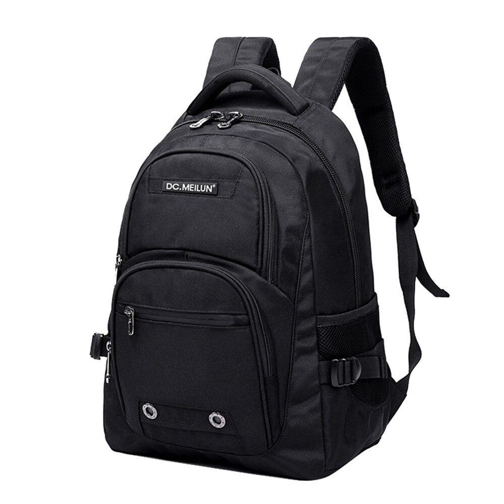 Brand Laptop Backpack Men's Travel Bags 2018 Multifunction Rucksack Waterproof Oxford Black Computer Backpacks For Teenager