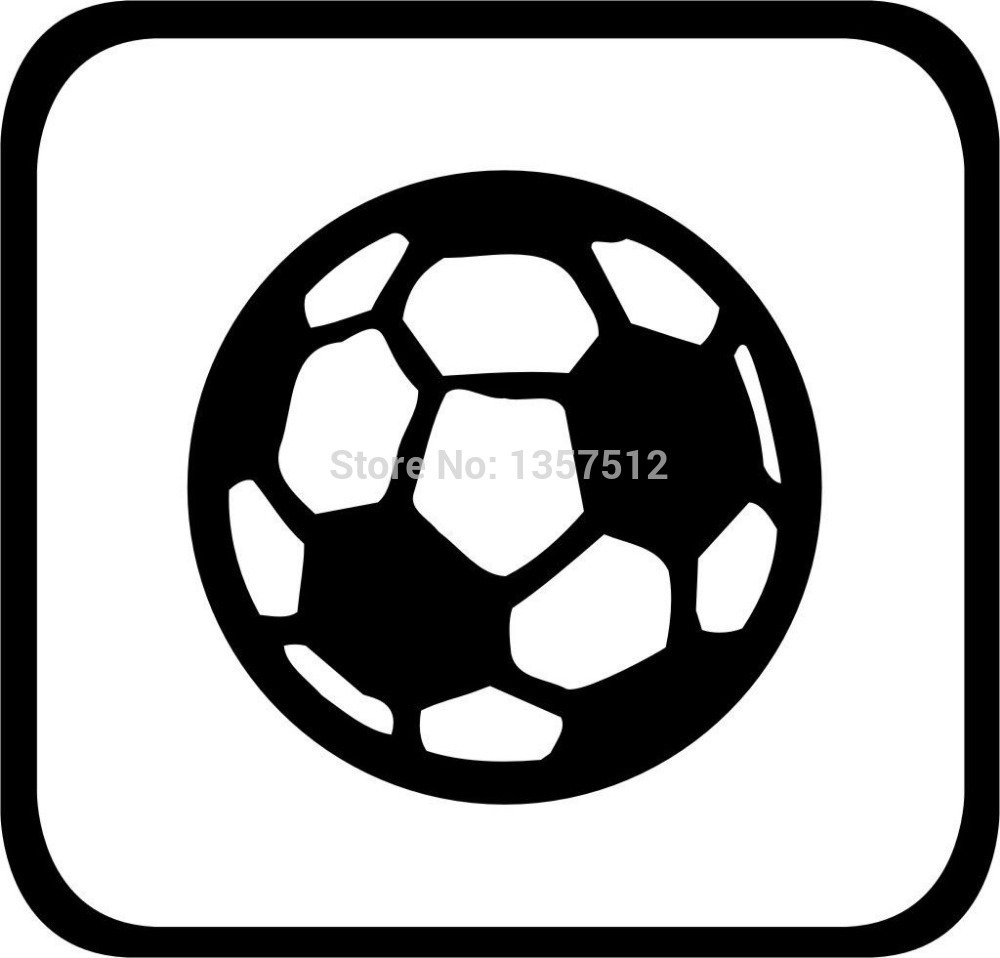 Soccer Car Decal PromotionShop For Promotional Soccer Car Decal - Soccer custom vinyl decals for car windows