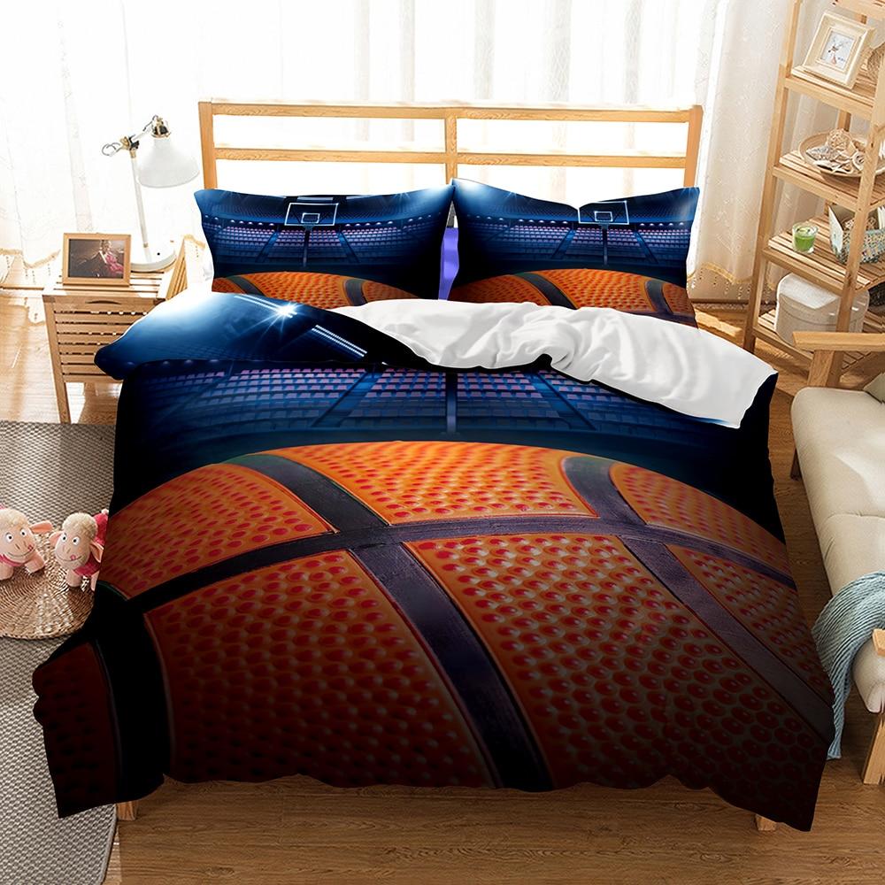 Dropshipping 3d Bedding Set Basketball Print Print Duvet