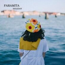 Faramita Holiday Morocco Style Northern Europe Flowers Women