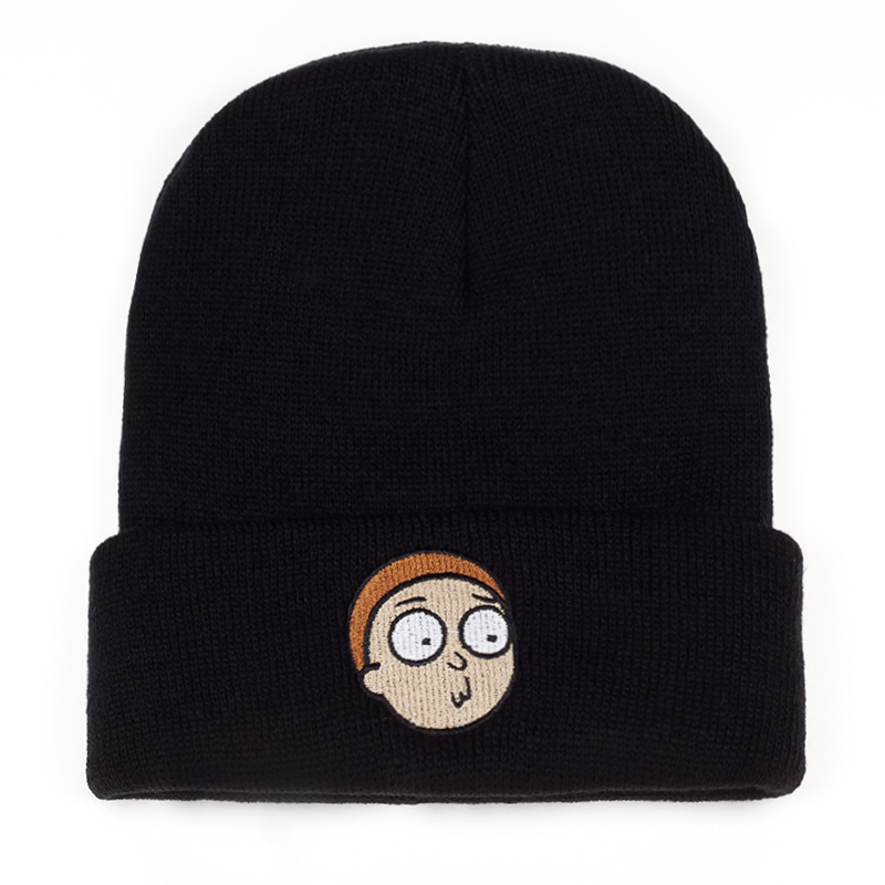 ... best 94758 614c6 Morty Beanies New 2017 Warm Winter Animation Rick And  Morty ... bc1b01049fb7