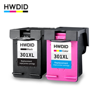 2PCS 301XL Black CMY Ink Cartridge Compatible For Hp 301 Xl CH563EE CH564EE For HP Deskjet