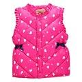 2017Children's winter vest new children's vest thickening Korean girl vest inside and outside the children to wear warm liner ve