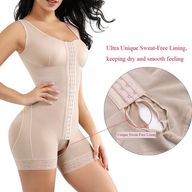 Lover Beauty Full Body shaper Modeling Shapewear Waist Cincher Underbust Bodysuit Slimming Waist Trainer Seamless Shapewear 4
