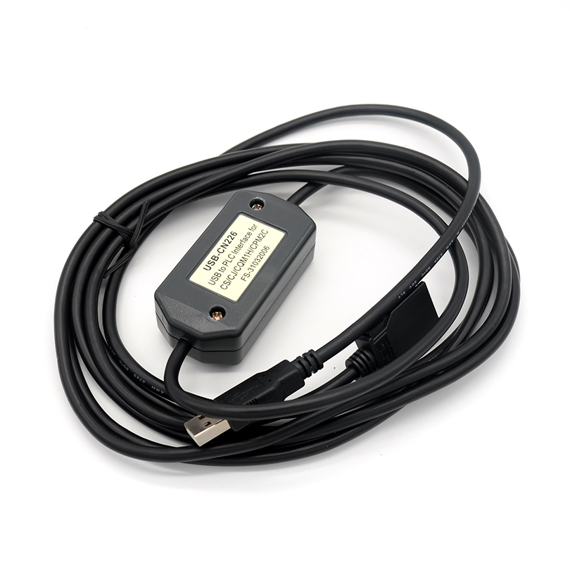 FOURSTAR USB Interface OMRON PLC Programming Cable Peripheral Port Directly Connected CS/CJ Series Peripheral Port