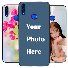 Honor 8C case Custom Personalized Make your Photo pattern images Hard Body Soft Side Phone Case Cover huaweinova3 case custom personalized make your photo pattern images hard body soft side phone case cover