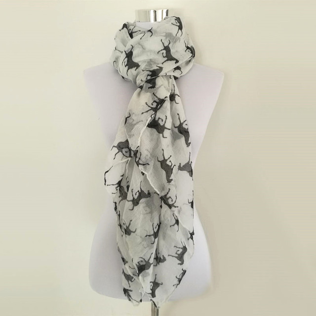 Running Horses Ring Scarf | Infinity Scarves