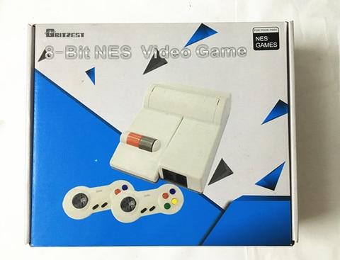 Console para Nes Jogos para Jogos Retro com 72 Pinos Ntsc Vídeo Game 8 Bits Slot Cartucho 2 Wired Gamepads 72 tv