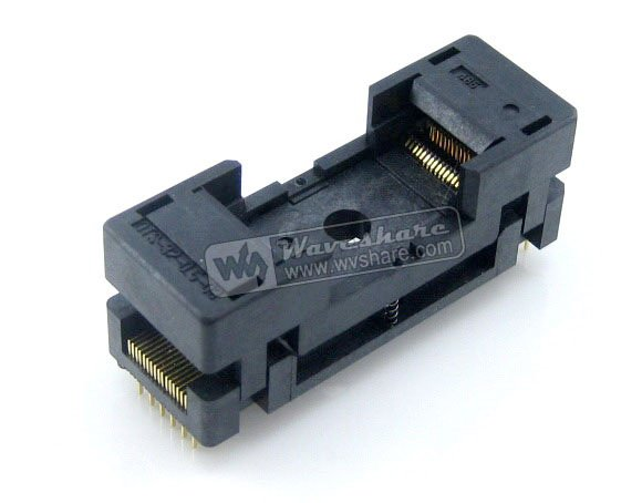 Parts TSOP32 TSOP IC Test Socket OTS-32-0.5-08 Enplas IC Programmer Adapter 18.4mm Body Width 0.5mm Pitch module tsop40 tsop ots 40 0 5 01 enplas ic test socket adapter 18 4mm width 0 5mm pitch