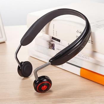 Bone Conduction Bluetooth 5.0 Headset 8G Memory Luminous Lights Running Headphones Wireless Outdoor Sport Mic Handsfree Earbuds