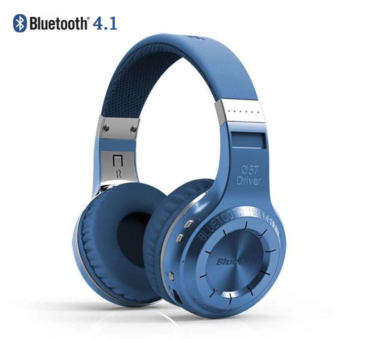 ФОТО 100% Bluedio HT (Shooting Brake) Wireless Bluetooth 4.1 Stereo Headphones Headband Headsets