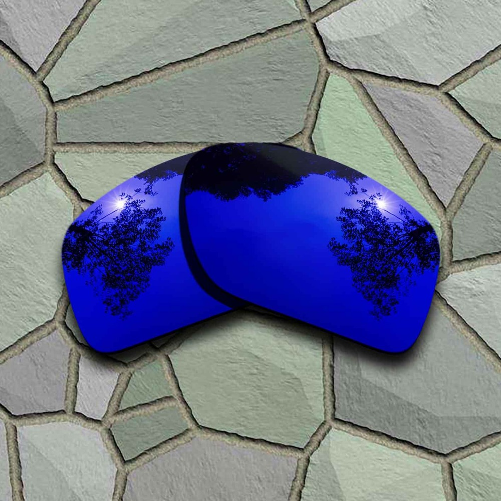 Violet Blue Sunglasses Polarized Replacement Lenses For Oakley DOUBLE EDGE