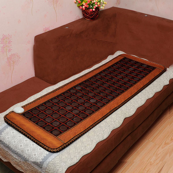 2015 High Sale Infrared Heated Tourmaline/Germanium Stone Massage Mat Korea Mattress Heating Massage Korea Tourmaline Mat