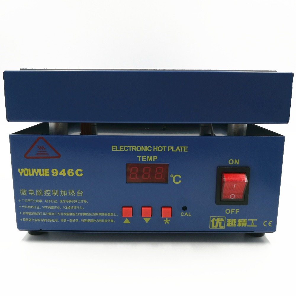 110 / 220V 800W 946C elektrooniline kuumutusplaadi eelsoojendusjaam - Keevitusseadmed - Foto 4