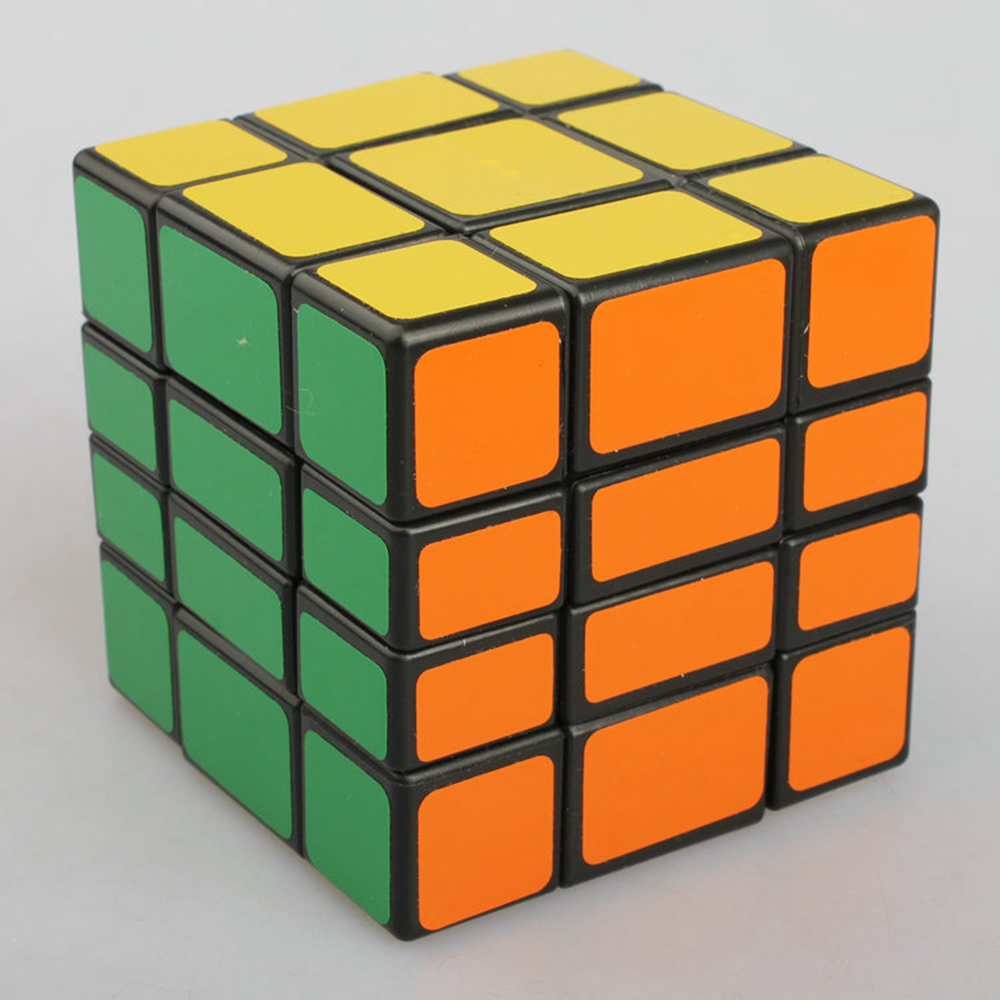 WitEden Unequal 3x3x4 Mixup Magic Cube Speed Cube Puzzle Game Education Toys for Kids Children