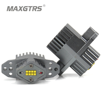 MAXGTRS 2 Pieces 1 Set 2 80W 160W LED Marker Angel Eyes Halo Light High Power