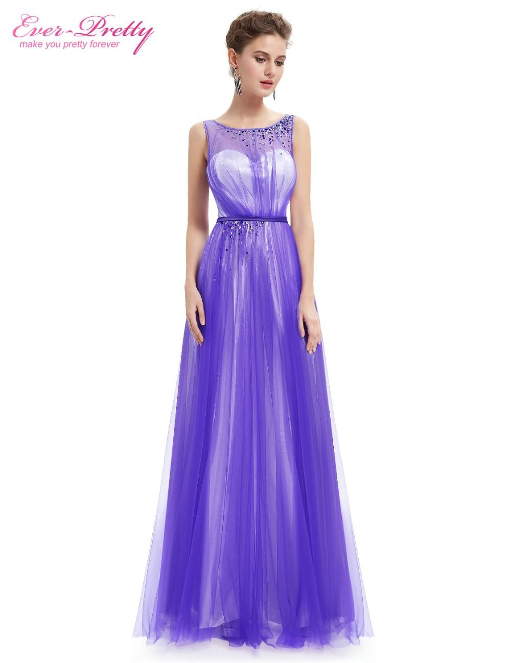 14d624494418c [Clearance Sale] Elegant Ever Pretty Evening Dresses He08747 Women Round  Neck Sleeveless Long