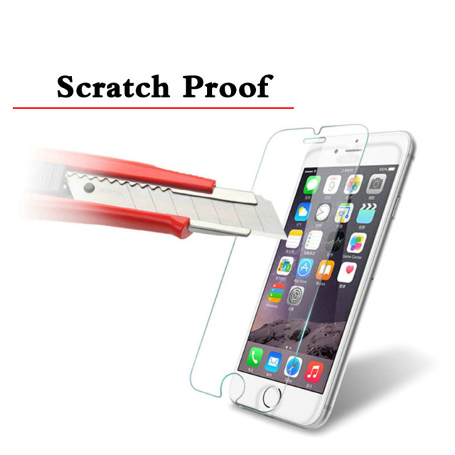 Ultra Thin Premium Tempered Glass For iPhone 5S 5C SE 5 iPhone 4 4s 6 6s Plus 7 Plus Screen Protector HD 9H Scratch Proof Glass
