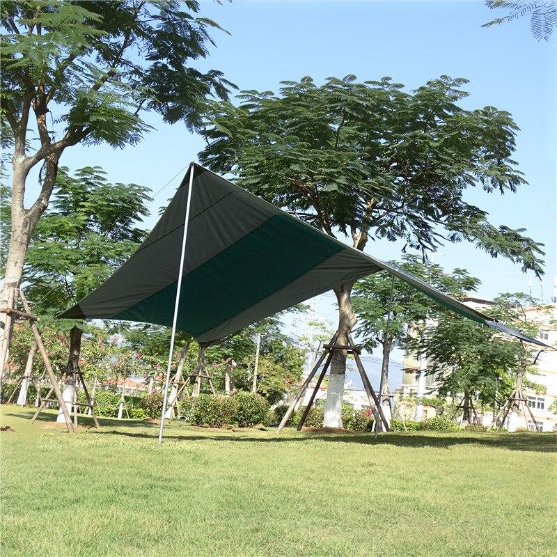 Tente de bâche ultralégère abri soleil parasol auvent de Patio auvent grand abri de soleil bâche famille Camping tente imperméable tente de bâche