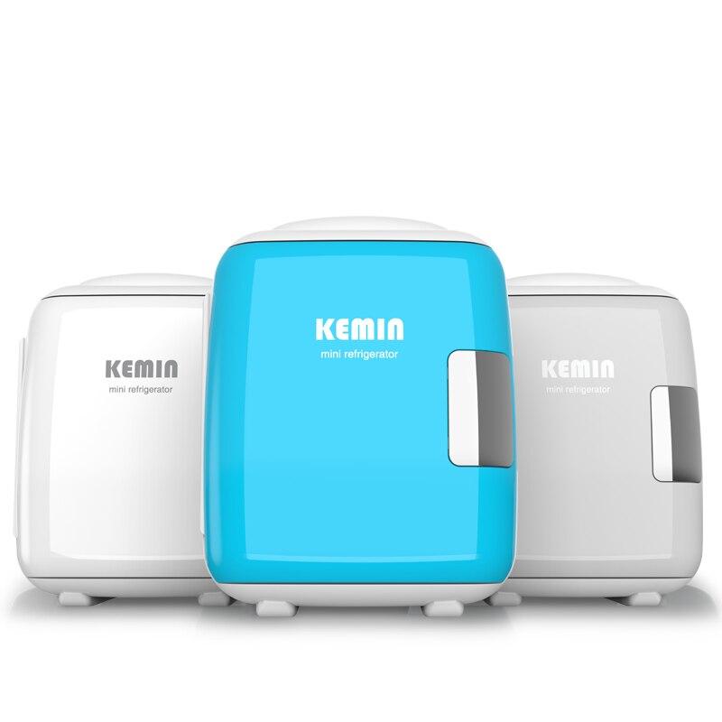 Free Shipping Portable 8L Mini Refrigerator 12V /220V Both Car Home Mini Fridge Cooler Box Mini Frigo For Drink Baby Milk