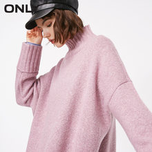 ONLY autumn and winter new high collar warm sweater women | 118313521(China)