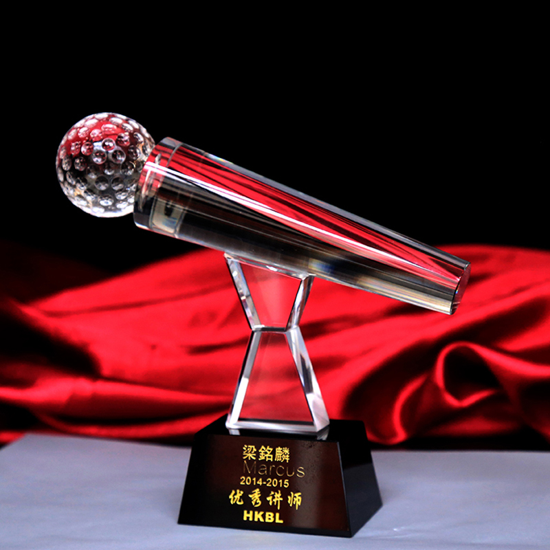 Clear Crystal Singing Contest Sing KTV Microphone Trophy Cup Music Fans AwardsClear Crystal Singing Contest Sing KTV Microphone Trophy Cup Music Fans Awards