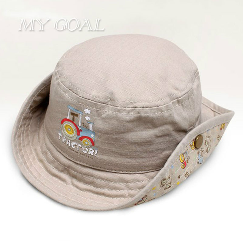 New fashion baby bucket hats fishing cap children cotton for Fishing bucket hat
